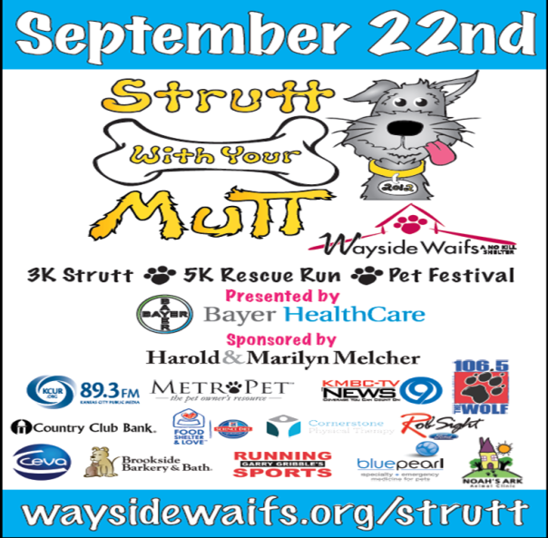 Strutt with your Mutt poster
