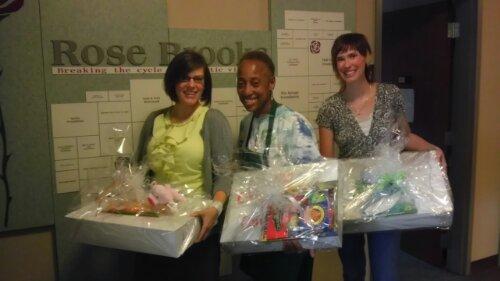 rose brooks center cookie donation
