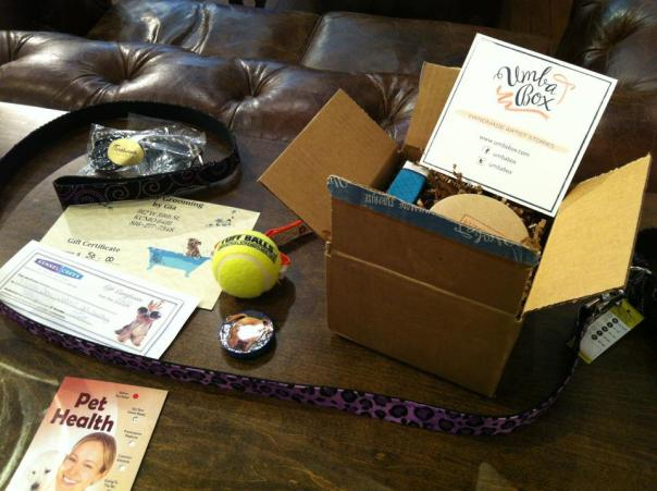 Umba Box, Waggiweal leash, Kennel Creek gift certificate