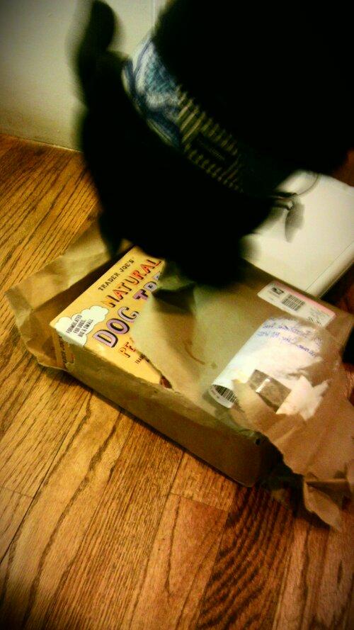 Machete reveals the box