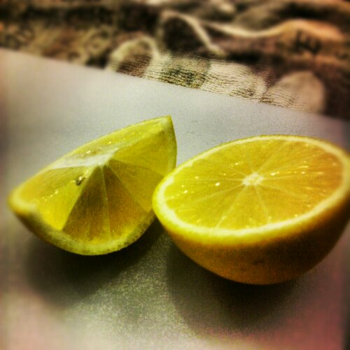 Meyere lemon wedges