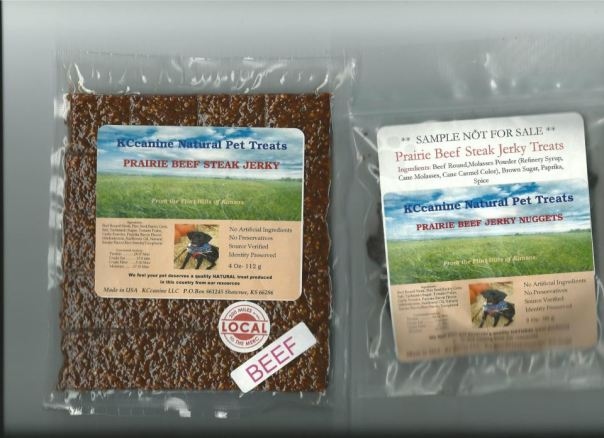 natural pet treats made in Kansas