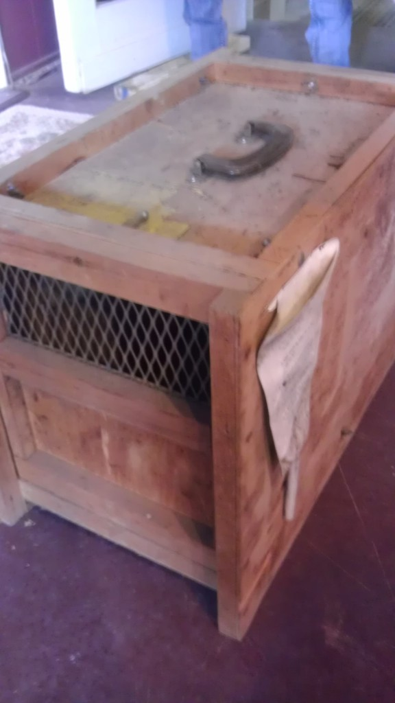 antique dog kennel